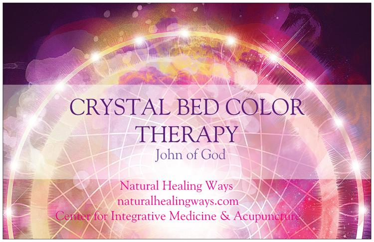 CRYSTAL BED Postcard front
