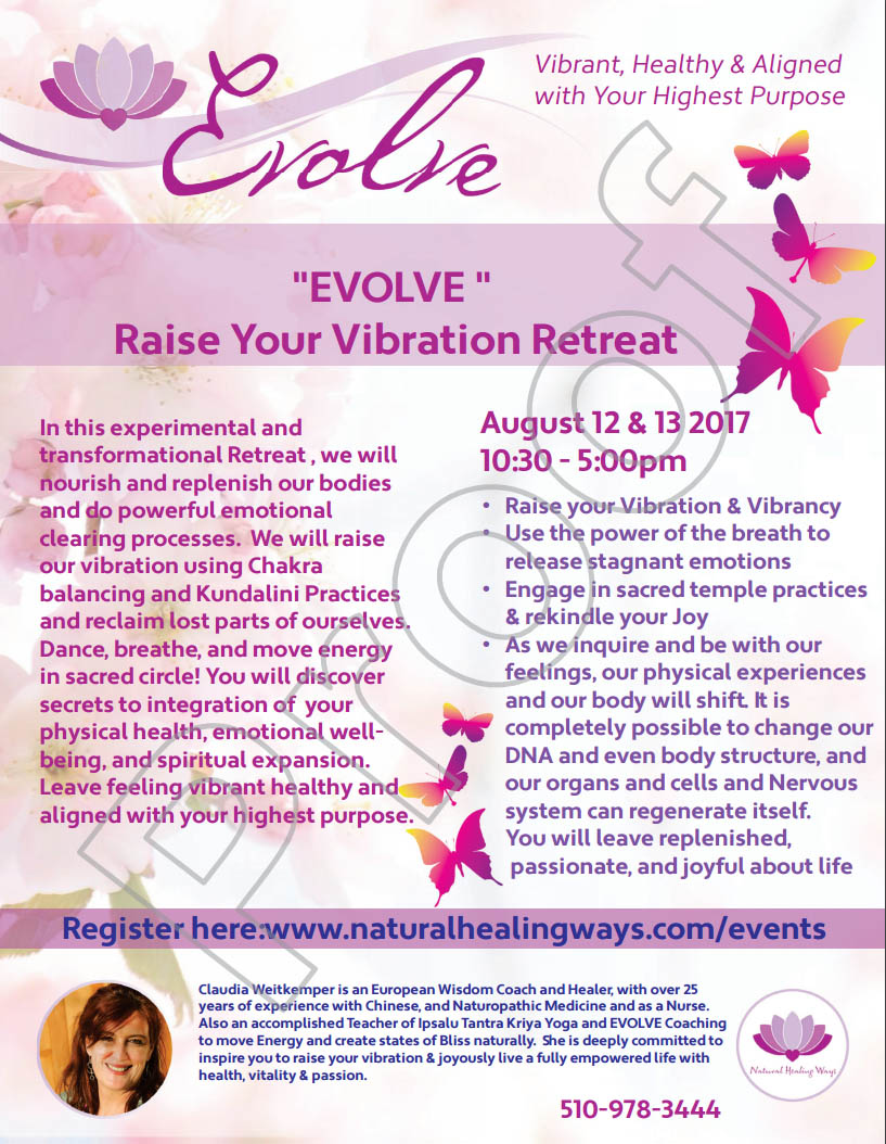 "EVOLVE ""Raise Your Vibration"" @ Rudramandir 